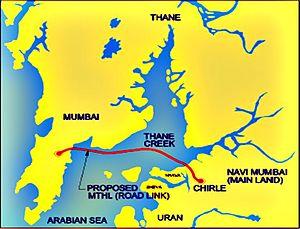 Mumbai Trans Harbour Link - Image: Mumbai trans Harbor link