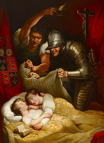 File:Murder of the Princes in the Tower by J.Northcote (1786, Petworth House).jpg
