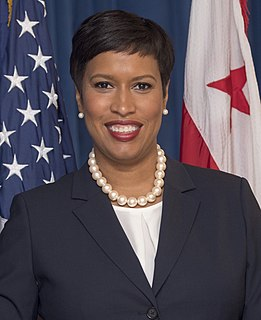 Muriel Bowser Mayor of the District of Columbia