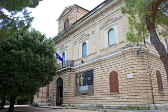 D'Annunzio University of Chieti–Pescara - National Archaeology Museum of Abruzzo, where the first faculty of D'Annunzio University was established.