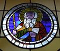 Museo di santa croce, vetrata attr. giotto, aronne.JPG