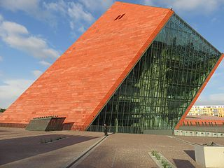 Museum of the Second World War History museum in Gdańsk, Poland