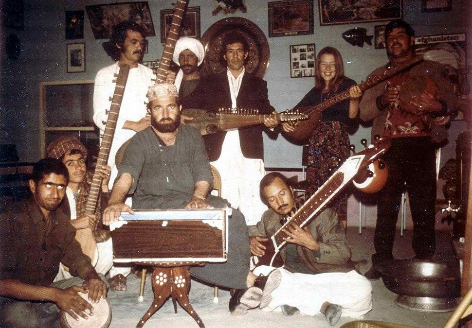 Musicians in Herat, 1973
