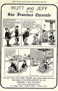 <i>Mutt and Jeff</i> 1907-1983 American comic strip