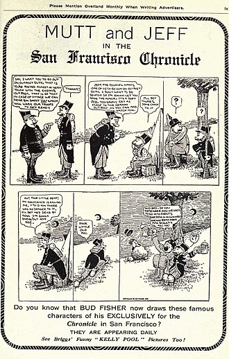 Mutt and Jeff - Image: Muttand Jeff Advertisement