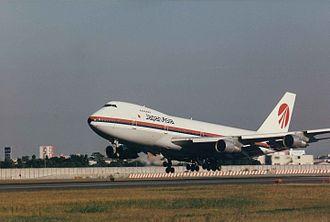 Japan Asia Airways - Japan Asia Airways Boeing 747-200 in original livery