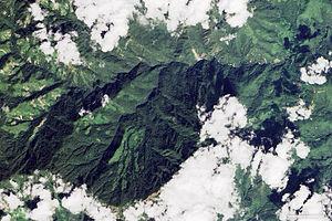 Cyclone Komen - Image: Myanmar Landslide 2015 (before)