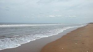Mypadu Beach - Bay of Bengal at Mypadu Beach, Nellore district