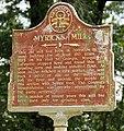 Myrick's Mill Historical Marker, Twiggs County, GA, US.jpg