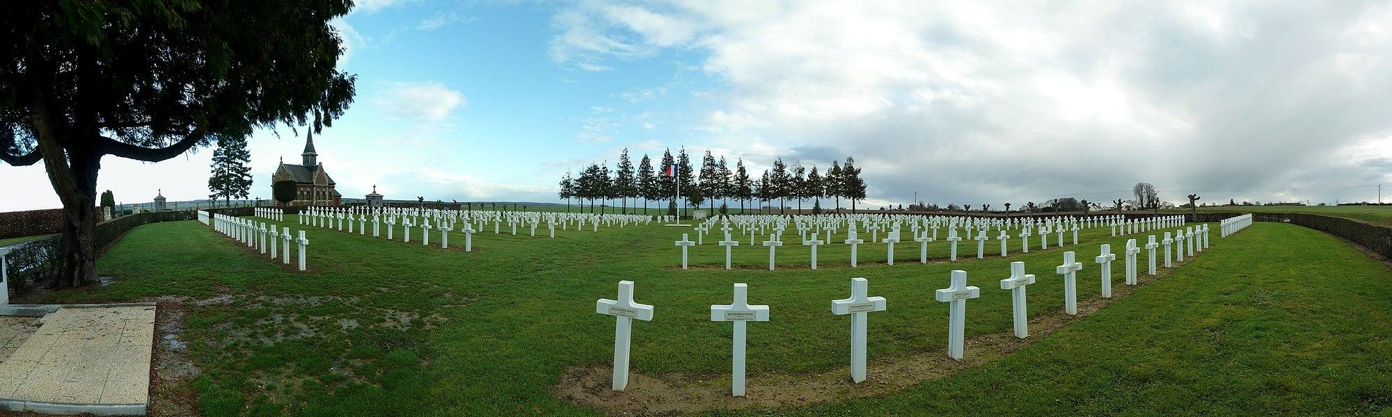 Nécropole militaire française de Méry-La-Bataille - Méry-la-Bataille - Oise - France