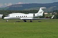 N55GV - GLF5 - Kyrgyz International Airlines