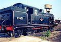 N7 0-6-2T Stratford Works April 1991. 01.jpg