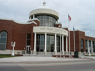 East Grand Forks, Minnesota - East Grand Forks City Hall