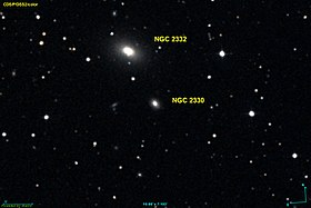 La galaxie elliptique NGC 2330.