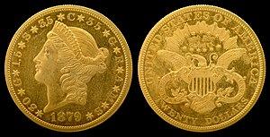 Stella (United States coin) - 1879 Quintuple Stella Pattern