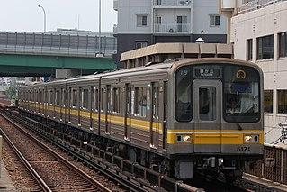 Nagoya Municipal Subway 5050 series Japanese train type