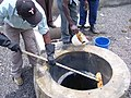 Naivasha maintainance of biogas plant (4426405869).jpg