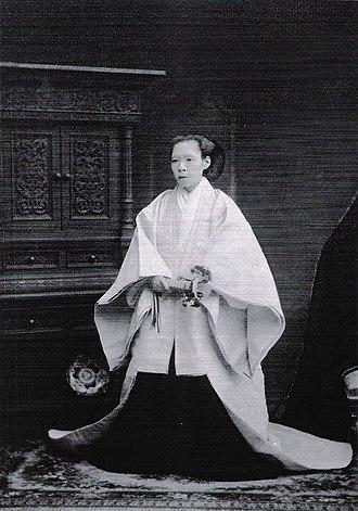 Emperor Meiji - Yoshiko Nakayama (mother of Emperor Meiji)