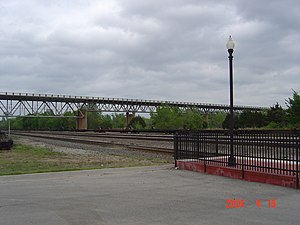 National Register of Historic Places listings in McClain County, Oklahoma - Image: Nance Bridge