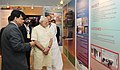 Narendra Modi being briefed about the Smart Cities Mission, Atal Mission for Rejuvenation and Urban Transformation (AMRUT) and Housing for All Mission, in New Delhi. The Union Minister for Urban Development (1).jpg