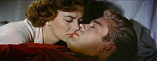 Natalie Wood en James Dean in Rebel Without a Cause