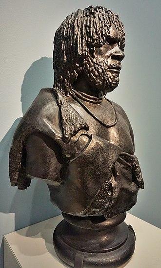 Benjamin Law (artist) - Image: National Portrait Gallery, Canberra, Australia Joy of Museums Woureddy, an Aboriginal Chief of Van Diemen's Land