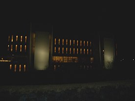 National and university library of Iceland-At night.jpg
