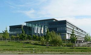 Bechtle - Bechtle's headquarters in Neckarsulm, Baden-Württemberg.