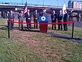 Neponset River Bridge, Lt. Governor Murray, October 25, 2012 (8122748872).jpg