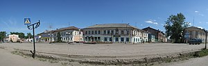 Nerekhta, Kostroma Oblast - Historical center of Nerekhta