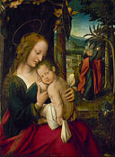 Netherlandish School - Rest on the Flight into Egypt - Google Art Project.jpg