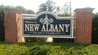 New Albany, Mississippi City in Mississippi, United States