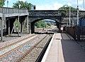 New Cumnock railway station, East Ayrshire, Scotland. View towards Sanquhar and Kirkconnel.jpg