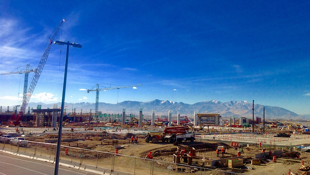 File New Salt Lake City International Airport Construction