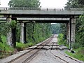 New double track in Littleton, July 2013.JPG