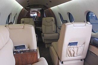 Nextant Aerospace - retrofitted cabin
