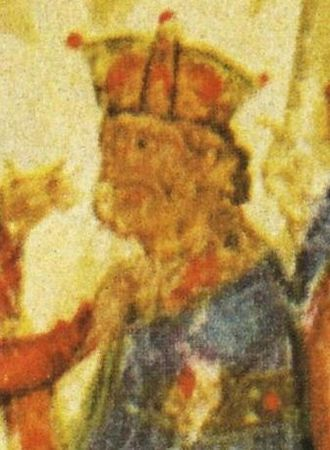 Nikephoros I - Nikephoros I, depicted in the 12th century Manasses Chronicle
