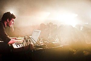 Nicolas Jaar - Nicolas Jaar live at Rex Club in Paris