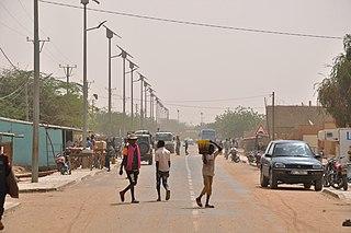Filingue Town in Tillabéri Region, Niger