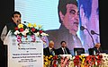 Nitin Gadkari addressing at the inauguration of a workshop-cum- exhibition on 'Adoption of innovative technologies and materials for road construction in India, in New Delhi. The Secretary.jpg