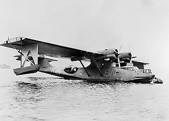 North-Eastern Area Command - No. 11 Squadron Catalina at Port Moresby