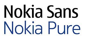 Nokia Pure - Comparison of Nokia Sans and Nokia Pure, both in regular form