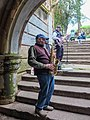 NorCal2018 Street musicians performing in a pedestrian underpass at the Golden Gate Park S0603089.jpg
