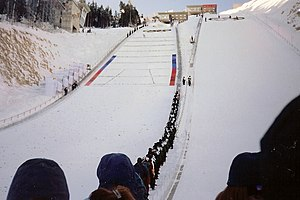 Nordic combined at the 2002 Winter Olympics - Nordic Combined ski jumping at Park City.