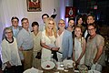 Norman Jewison and his family at his birthday party. Photo by Tom Sandler. (48198882556).jpg