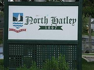 North Hatley, Quebec - Image: North Hatley Sign