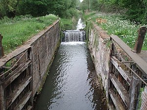 North Walsham & Dilham Canal - The disused canal at Briggate