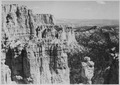 North side of Little Bryce Canyon. Top of Yellow Creek Jack in foreground. - NARA - 520291.tif