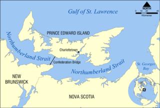 Northumberland Strait strait