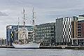 Norwegian Tall Ship, S-S Statsraad Lehmkuhl - Dublin Docklands.jpg